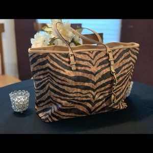 Michael Kors Jet Set Tiger Multi Purpose Tote